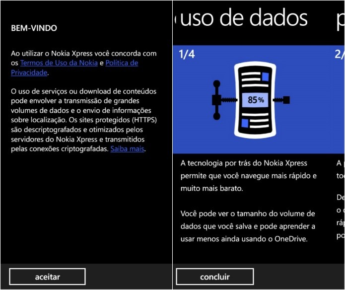 Iniciando aplicativo pela primeira vez (Foto: Reprodução/Helito Bijora)