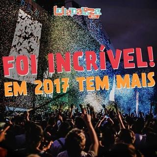 Lollapalooza 2017 (Foto: Reprodução/Facebook)