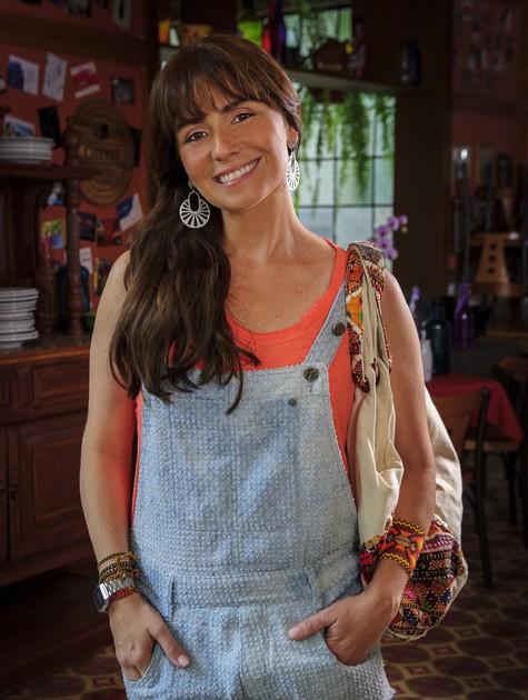 Giovanna Antonelli é Clara em 'Em família' (Foto: TV Globo)