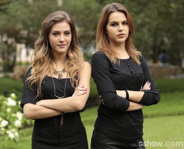 Na briga por Ben, irmãs de Malhação entrevistam elenco (Foto: Felipe Monteiro / TV Globo)