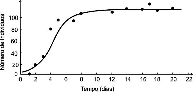 Gráfico que analisa população de protozoários (Foto: Reprodução/Fuvest)