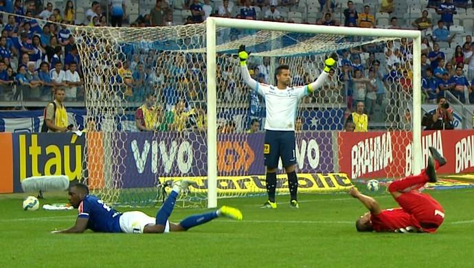 Mineirão, Cruzeiro x Internacional (Foto: Reprodução/Premiere)