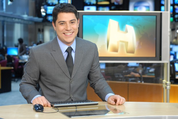 Evaristo Costa é apresentador do Jornal Hoje (Foto: Globo/Zé Paulo Cardeal)