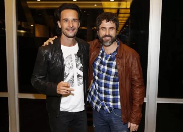 Rodrigo Santoro e Eriberto Leão (Foto: AgNews)