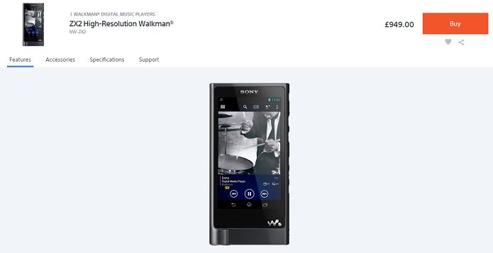 Novo Walkman custa mais de R$ 3 mil (Foto: Reprodução/Thiago Barros)