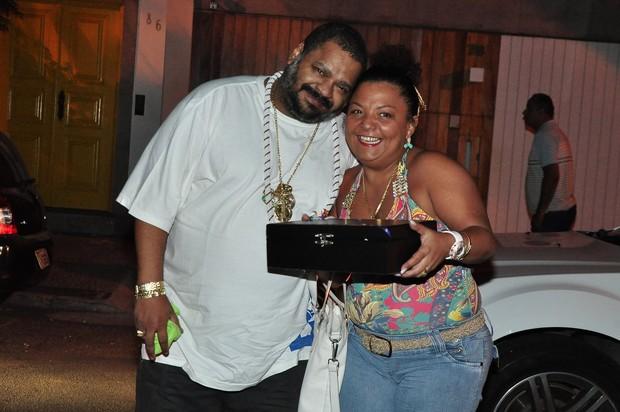 Arlindo Cruz no aniversário de Regina Casé no Rio (Foto: Roberto Teixeira/ EGO)