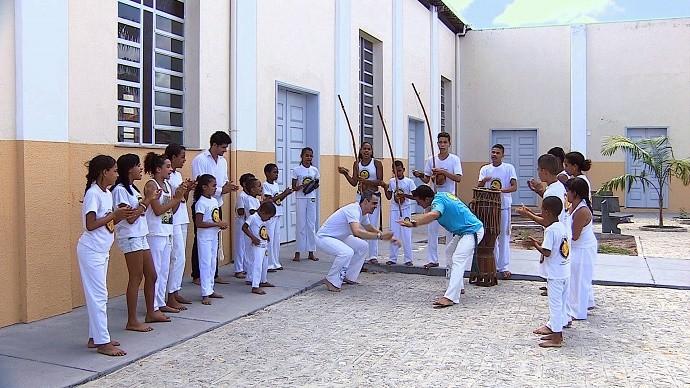 O jogador de futsal Pita foi o convidado do 'Se Joga' (Foto: TV Sergipe)