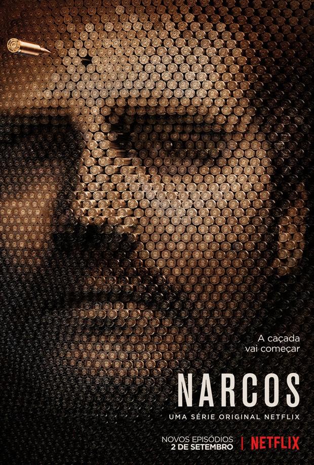 Poster da 2ª temporada da série 'Narcos' (Foto: Divulgação)