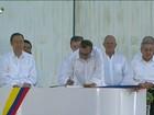 Colombianos vão às urnas para decidir sobre acordo de paz