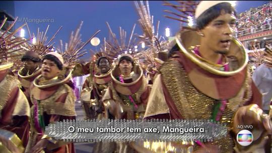 Mangueira pede ajuda dos santos para conseguir o bicampeonato