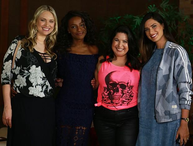 Fabiana Saba, Pathy Dejesus, Mariana Xavier e Nathalia Novaes (Foto: Divulgação)
