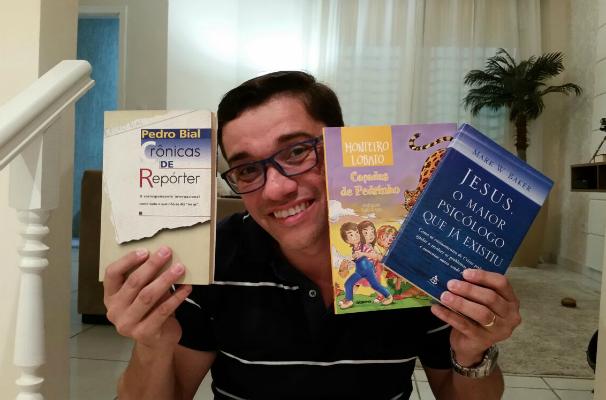 Marcos Paiva, apresentador do Revista de Sábado, selecionou três obras que marcaram a sua vida (Foto: Arquivo Pessoal)