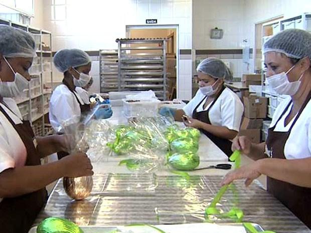 Indústria de alimentos em Campinas (Foto: Reprodução / EPTV)