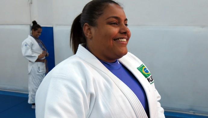 Maria Suelen judô  (Foto: Divulgação)