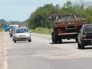 BR-135 é a campeã em acidentes no Maranhão (Foto: Douglas Júnior/O Estado)