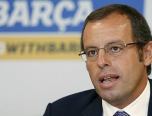 Sandro Rosell presidente Barcelona (Foto: Reuters)