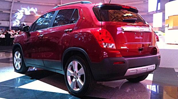 Novo Chevrolet Tracker é lançado em São Paulo (Foto: Ricardo Sant'Anna/Autoesporte)