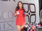 Anitta lança linha de perfumes com convidados famosos em São Paulo