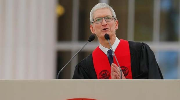Tim Cook: presidente de Apple quer tecnologias mais humanas (Foto: Reuters)
