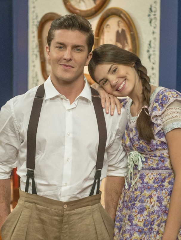 O casal Malfada e Romeu (Foto: TV Globo)