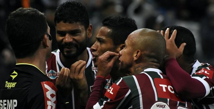 Fluminense x Corinthians (Foto: Nelson Perez/Fluminense FC)