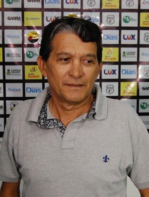 Bebeto Silva, presidente do Treze (Foto: Silas Batista / GloboEsporte.com)