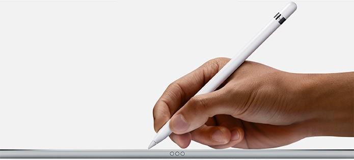 Apple Pencil: a nova caneta stylus para o iPad Pro (Foto: Divulgação/Apple)