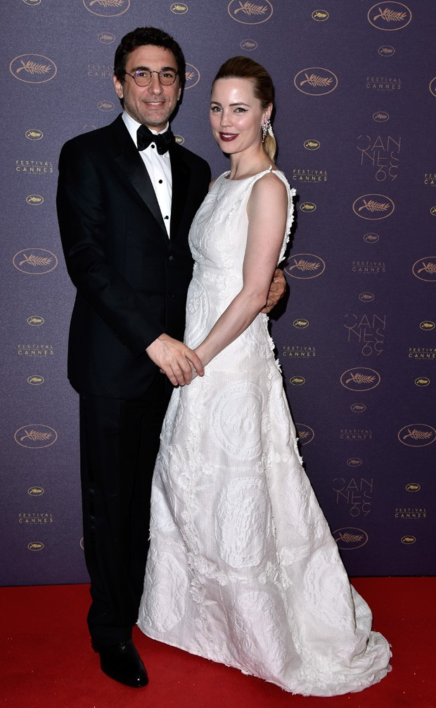 Jean-David Blanc e Melissa George (Foto: Getty Images)