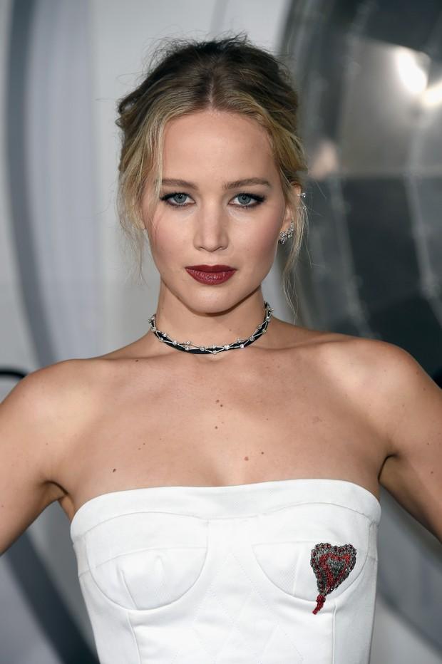 Jennifer Lawrence em première de filme em Los Angeles, nos Estados Unidos (Foto: Matt Winkelmeyer/ Getty Images/ AFP)