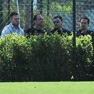 Rogério Ceni Michael Beale São Paulo Capivariano Cotia (Foto: Maurício Rummens)