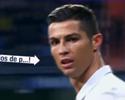 """TV flagra Cristiano Ronaldo xingando torcedores do Real: """"Filhos da p***"""""""