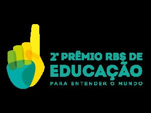 Logo 2º Prêmio RBS de Educação (Foto: Divulgação)