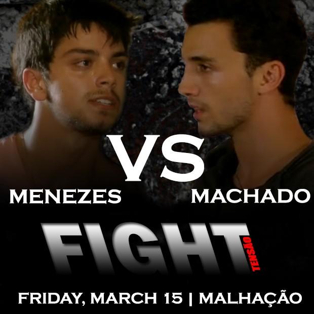 Fight Menezes vs Machado (Foto: Malhação / TV Globo)