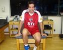 Após título na Ucrânia, lateral Ilsinho faz tratamento no CT do São Paulo