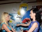 Britney Spears e Katy Perry vão à pré-estreia de 'Smurfs 2'