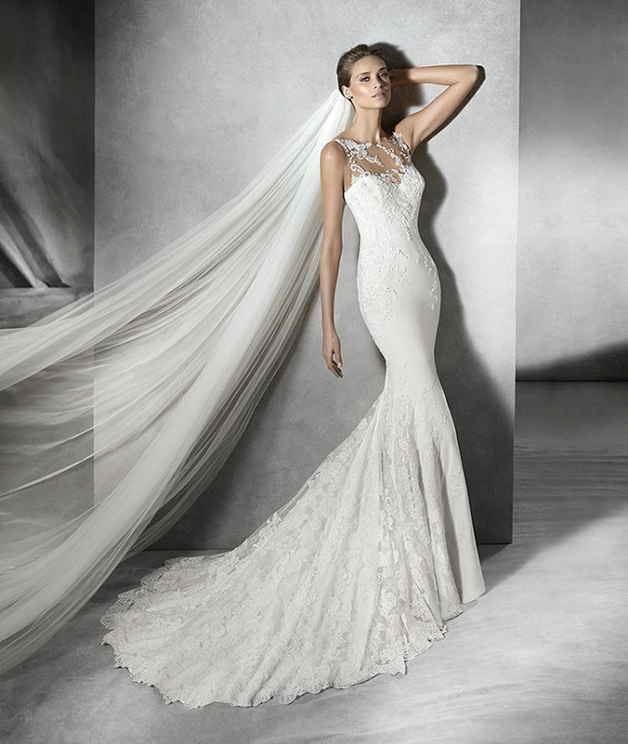 Vestido de noiva modelo sereia (Foto: imagem da internet)