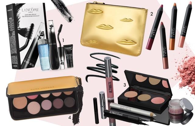 Kits de maquiagem para o Natal (Foto: Arte Vogue)