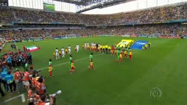 Curitiba se despediu da Copa do Mundo na última quinta (26) (Foto: Reprodução)