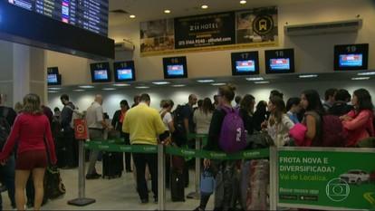 Nevoeiro causa transtorno nos aeroportos do Rio de Janeiro