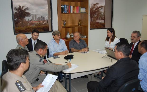 Reunião do MP, Paraíba, Campina Grande (Foto: João Brandão Neto / Globoesporte.com/pb)