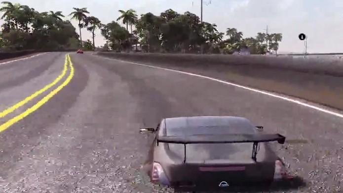 Cuidado para não afundar em nenhuma estrada de The Crew (Foto: Reprodução: YouTube)