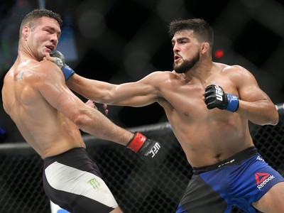 Kelvin Gastelum, Chris Weidman, UFC Long Island, MMA (Foto: Getty Images)