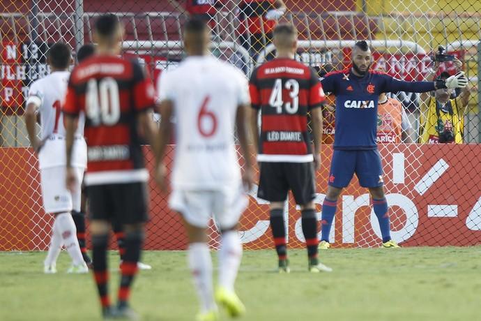 Alex Muralha, Muralha, Flamengo, Volta Redonda (Foto: Gilvan de Souza/Fla Imagem)