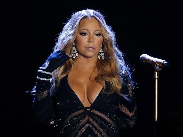 Mariah Carey em premiação em Monte Carlo (Foto: Eric Gaillard/ Reuters)