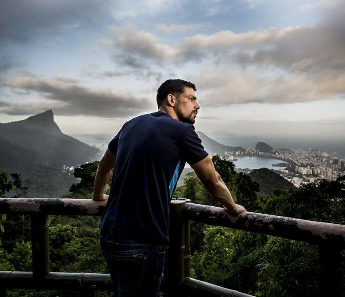 Ator comemora reviravolta na vida de Juliano (Foto: Ellen Soares/Gshow)