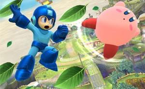Mega Man usa ataque especial contra Pikachu em 'Super Smash Bros.' do Wii U (Foto: Divulgação/Nintendo)