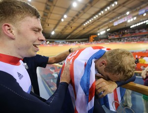ciclismo Philip Hindes e Sir Chris Hoy londres 2012 (Foto: Agência Getty Images)