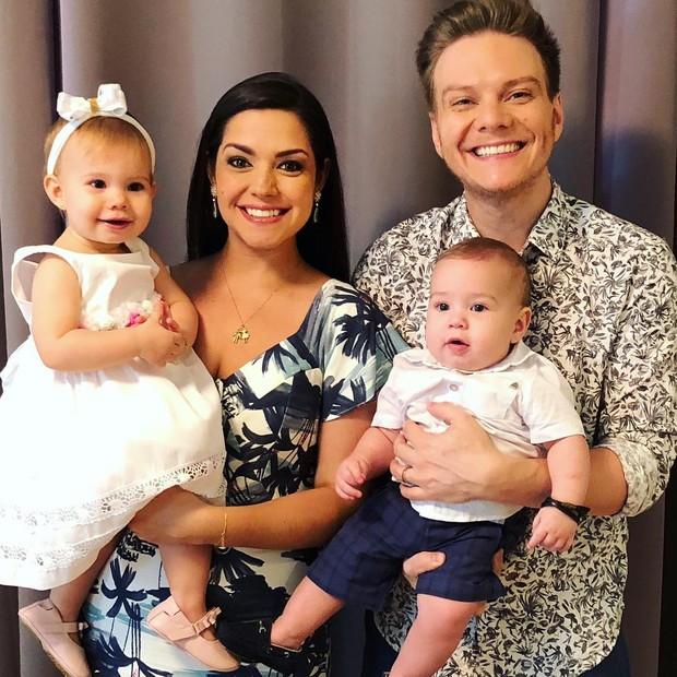 Família de Teló (Foto: Reprodução Instagram)