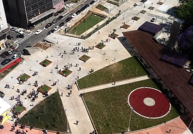 Praça Roosevelt no centro de São Paulo (Foto: Reprodução/Facebook)