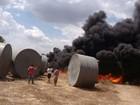 Incêndio destrói mais de 40 cisternas do programa de combate a seca no PI